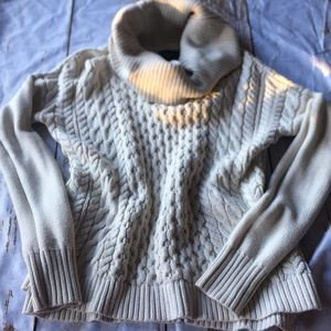 Cowl sweater AE size small